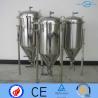 Infinitely Variable  Stainless Fermentation Tank Single Layer For Wine