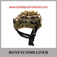 Buy cheap Wholesale Cheap China Military Tan Color  Honeycomb  Police Ballistic Helmet System from Wholesalers