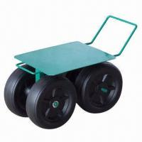China Garden Cart with 7.7 x 3-inch Empty Wheel, Comfortable, Convenient and Easy to Carry factory