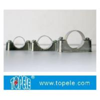 Buy cheap BS4568 / BS31 Steel Conduit Fittings Carbon Steel Spacer Bar Saddle With Base from Wholesalers