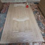 Buy cheap China 4mm thickness Oak veneer HDF Door Skin for door decoration from Wholesalers