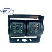 China Car Dual Camera Rear view Parking Camera with 15 IR lights 700TVL Sony CCD on sale