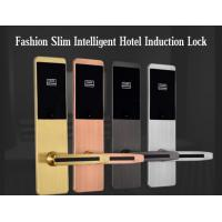 Buy cheap Ultra Thin RFID Hotel Door Locks , Zinc Alloy Material IC Card Induction Lock from Wholesalers