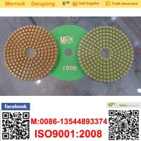 Buy cheap 100mm Marble Diamond Soft Polishing Pads Resin Buffing Pad For Polishing Machine from wholesalers