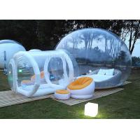 China Event Inflatable Bubble Hotel Water Resistance With Entrance Tunnel factory