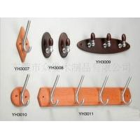 Buy cheap Portable Wooden Wall Clothes Rack , Pine / Poplar Wall Coat Hooks 300 X 40 X 10 mm from Wholesalers