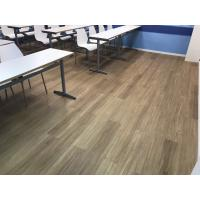 Buy cheap Easy installation wood look cost effective PVC vinyl plank flooring water proof from wholesalers