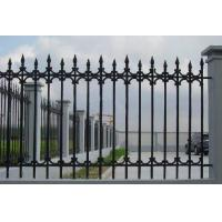 China Antique Cast Iron Fence Panels / Pedestrian Safety Barrier Fence For Villa Home on sale