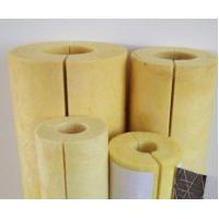 China sound reduction glass wool pipe insulation factory