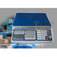 China LCD 12V 1A RS232 SS 30kg Electronic Weighing Scale factory