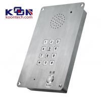 Buy cheap Public Emergency Telephone Entry Systems Dual Tone Multi Frequency from Wholesalers