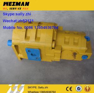 original SDLG Gear pump, 4120001058, SDLG spare parts for SDLG wheel loader LG956L for sale