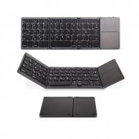China Foldable Bluetooth Keyboard,ABS Portable Mini Keyboard with Touchpad for IOS,Android factory