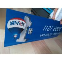 Buy cheap Indoor Custom Sign Boards Shape Cutting For Informational Signage / Menu Boards from Wholesalers