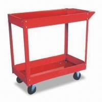 China Pb-free Tool Cart with UV Resistant Powder Coating, Suitable for Hotel and Dining Room factory