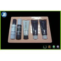 Buy cheap Pink PP PVC Flocked Plastic Cosmetic Trays , Clamshell Blister Packaging from Wholesalers