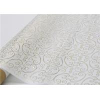China Moistureproof Hot Stamping Tissue Paper One Side For Flower Wrapping factory