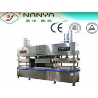 Buy cheap Degradable Paper Lunch Box Container / Fast Food Box Making Machine with 2000pcs/h from Wholesalers