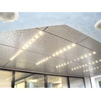 Buy cheap Building Lay In Ceiling Panels Sound Insulation  For Exhibition Centre  Hospital from Wholesalers
