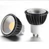 Buy cheap led GU10 COB 5.5W reflector spot light led light bulb from wholesalers