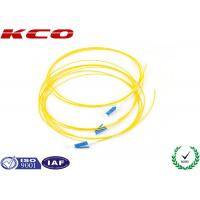 Buy cheap LC UPC Simplex Fiber Optic Cable 0.9mm PVC Cover , Fibre Optic Patch Cable from Wholesalers