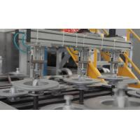 Quality Junhe brake disc spraying coating and heating line high efficient With for sale
