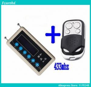 Buy cheap Fcarobd car remote control copy 433mhz car remote code scanner + 433mhz A002 car door remote control copy from Wholesalers