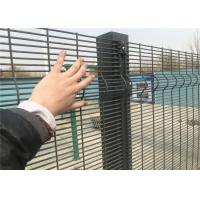 China 358 High-Security Weld Wire Fence, Powder Painted Mesh Fence Panels RAL 6005, 9003 , Anti Climb and Cut, 12.70mm x 76.20 on sale