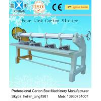 China Four Link Carton Box Automatic Rotary Slotter Machine 0 - 60 Pieces / Min factory