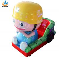 Buy cheap Coin Operated Childrens Rides , Kiddy Ride Machine Cartoon Engineer Shape from wholesalers