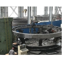 China GB/T9444-88 Cast Iron HB 250 Mill Girth Gear and rotary kiln girth gear factory price factory