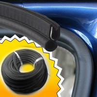 China car garage door gasket rubber seal strip upvc shower sliding exterior bottom on sale