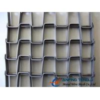 China The Great Wall Type Mesh Belt, SS304, SS316 and Galvanized Steel Materials factory