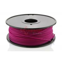 China Rapid Prototyping Purple 3D Printer ABS Filament 3 MM , 3D Print Consumable factory
