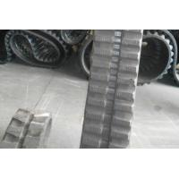 Buy cheap Adjustable Link Track Loader Rubber Tracks For Infrastructure Construction from wholesalers