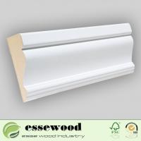 Buy cheap Gesso Primed MDF Wall Base/Skirting Board/Crown Moulding from Wholesalers