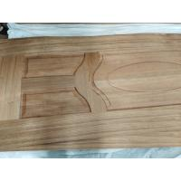China Elegantly Appearance Wood Door Skins / No Crack Light HDF Decorative Door Skins on sale