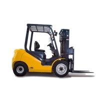 China Solid Tire 2.5 Ton Fd25t 5000Lb Lp Gas Forklift factory