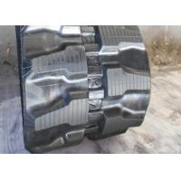 Buy cheap 320mm Wide Rubber Excavator Tracks , light Weight Bobcat Replacement Tracks from wholesalers