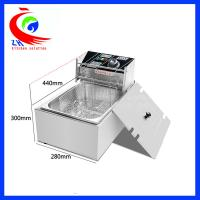 Buy cheap One Basket Commercial Electric countertop deep fryer 5.5L for Home from Wholesalers