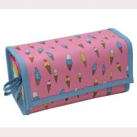 Large Nylon Foldable Custom Cosmetic Bags With Compartments