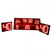 China Multi - Function Sports LED Football Scoreboard With Shot Clock CE / RoHS Approved factory