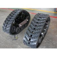 China 320mm Width Crawler Rubber Track Systems For Tractors Front Wheels ISO9001 Certification factory