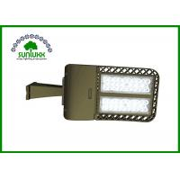 Buy cheap Direct Wiring LED Shoebox Light , AC 100 - 277V 200W Parking Lot Pole Light Fixtures from Wholesalers