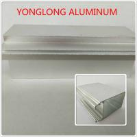 Buy cheap Silver Color Polished Aluminium Alloy Profiles T5 For Window / Door Materials from Wholesalers
