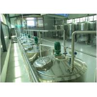 Buy cheap Can Package Soft  Drinks Production Line With Bottle Inverted Sterilizer from Wholesalers