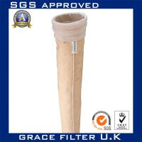 Buy cheap Nomex Needled Felt Dust Collector Filter Bags / Water Filtration Bag 2 Micron from Wholesalers