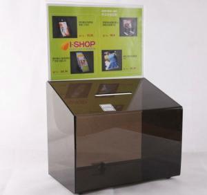 China Acrylic Suggestion box, Acrylic Donation & Ballot Box factory