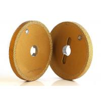 Buy cheap 1A1 Flat Shape Brazed Bond Grinding Wheels  Granite / Marble / Tile Usage from Wholesalers