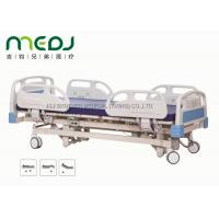 Buy cheap Adjustable Electric Hospital Bed MJSD04-01 ABS Steel Frame With 3 Functions from Wholesalers